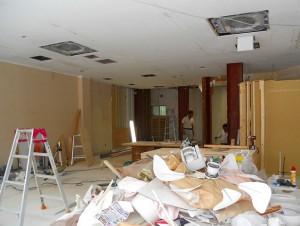 堺市新装美容室施工前